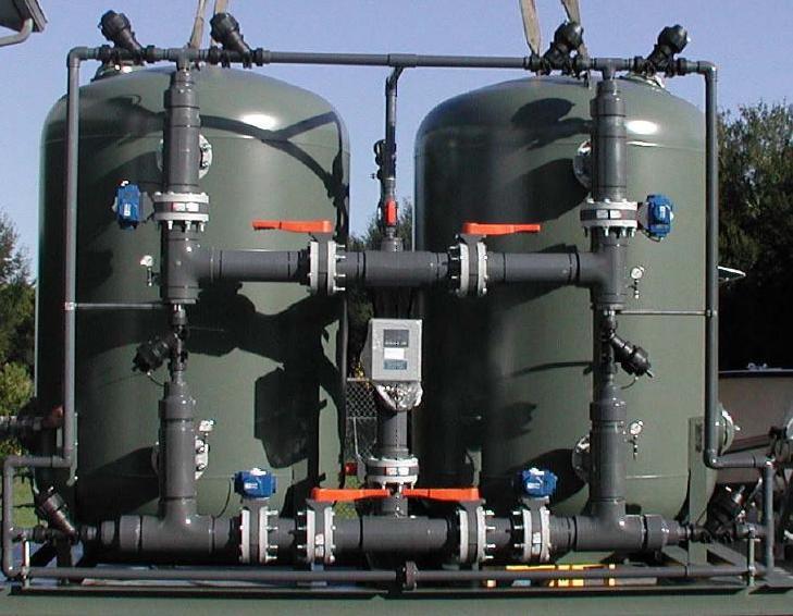 softener water treatment plant